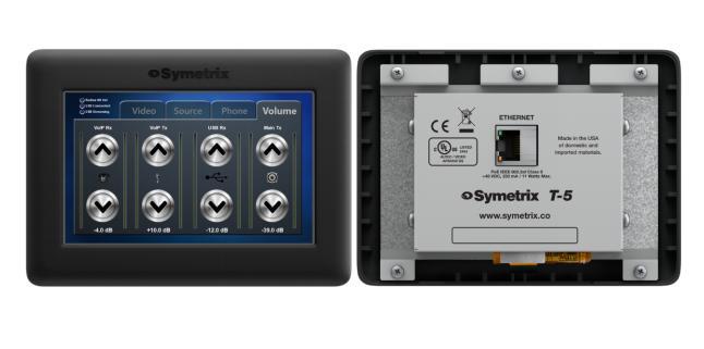 Symetrix推出两款新型控制器:触手可控