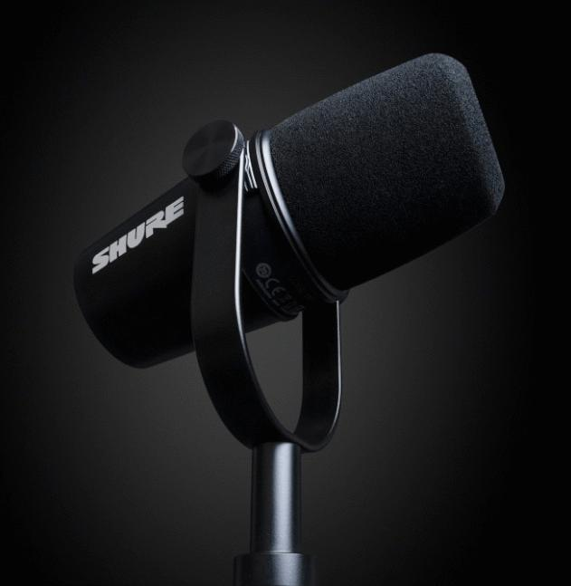 新品   舒尔正式推出首款MV7主播话筒