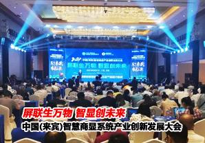 中国(来宾)智慧商显创新发展大会落幕