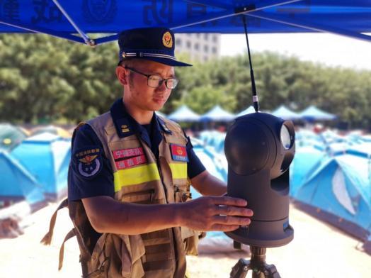 华平圆满完成大型综合体灭火救援演练