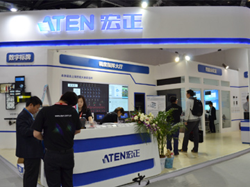 InfoComm china 2016 ATEN精彩图集