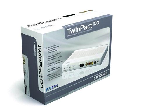 康能普视TwinPact100