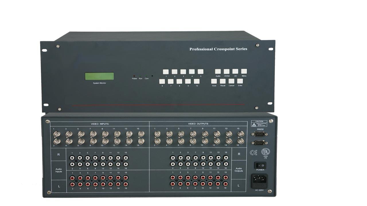 拓创AV矩阵切换器 16系列