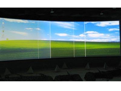 顺纶环型工程屏幕