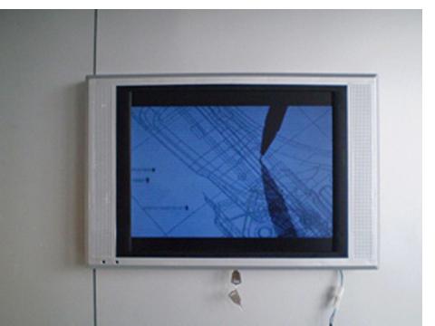 金众电子17寸楼宇广告机