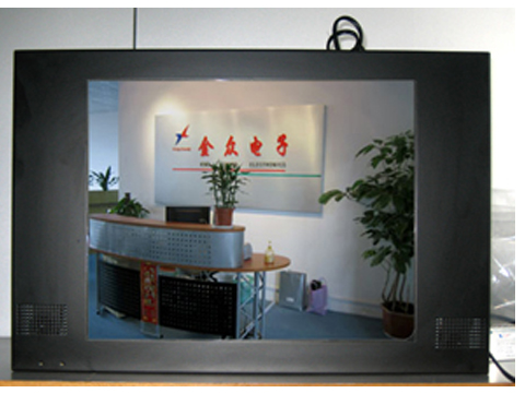 金众电子17寸金属外壳广告机