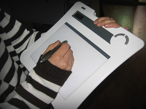 冠艺RF双无线高阶手写板