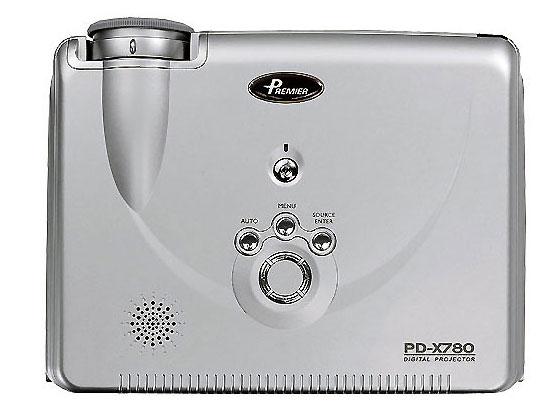拍得丽PD-X780商务投影机