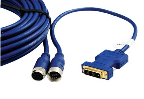 宽博穿管型DVI信号铜缆延长线CAB-DX-EOE