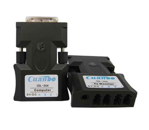 宽博DVI信号光纤传输器CDL-204