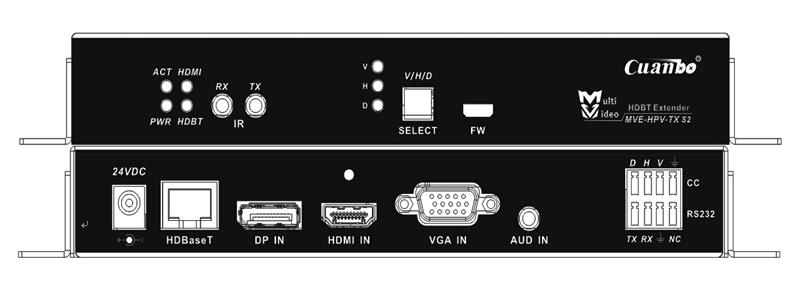 [宽博]MVE-HPV-TX-S2 多格式信号双绞线延长器