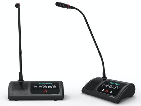 VIS-DVC-T/VIS-DVD-T数字会议系统单元