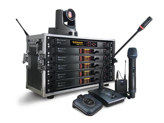 力卡电子WAM-432 全自动智能无线混音系统