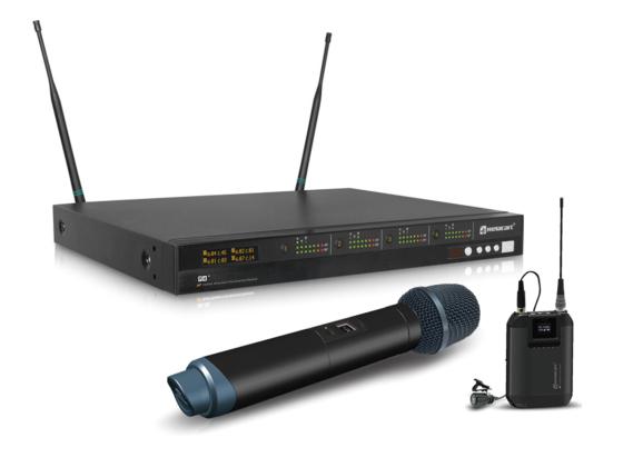 力卡电子P4⁺ 四通道130MHz 宽频真分集无线麦克风系统